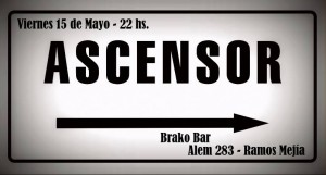 Ascensor en Brako Bar